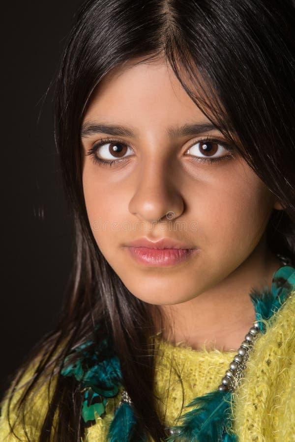 Free Brunette Girl Posing Stock Images - 45847394
