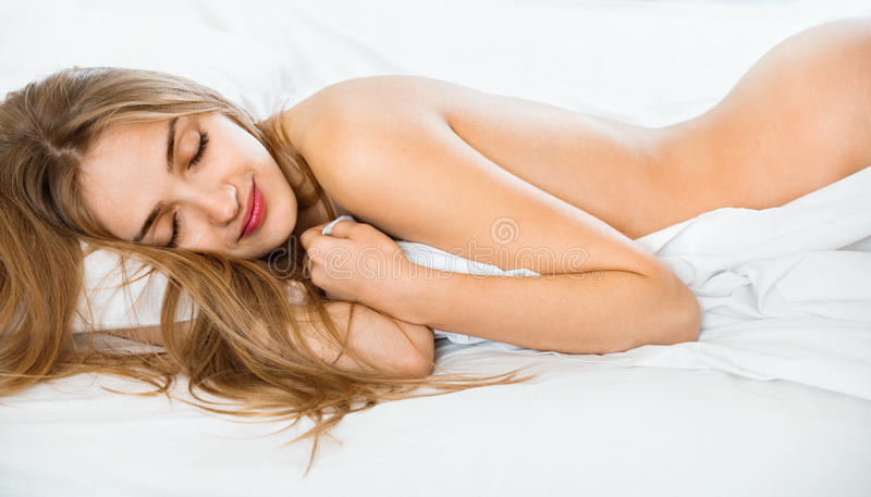 Girl found sleeping naked