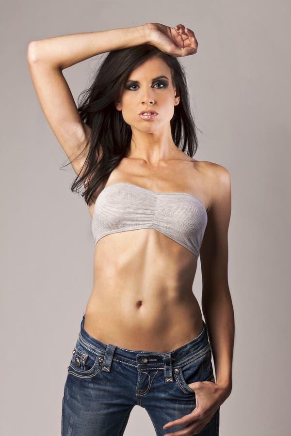 Brunette Model stock photos