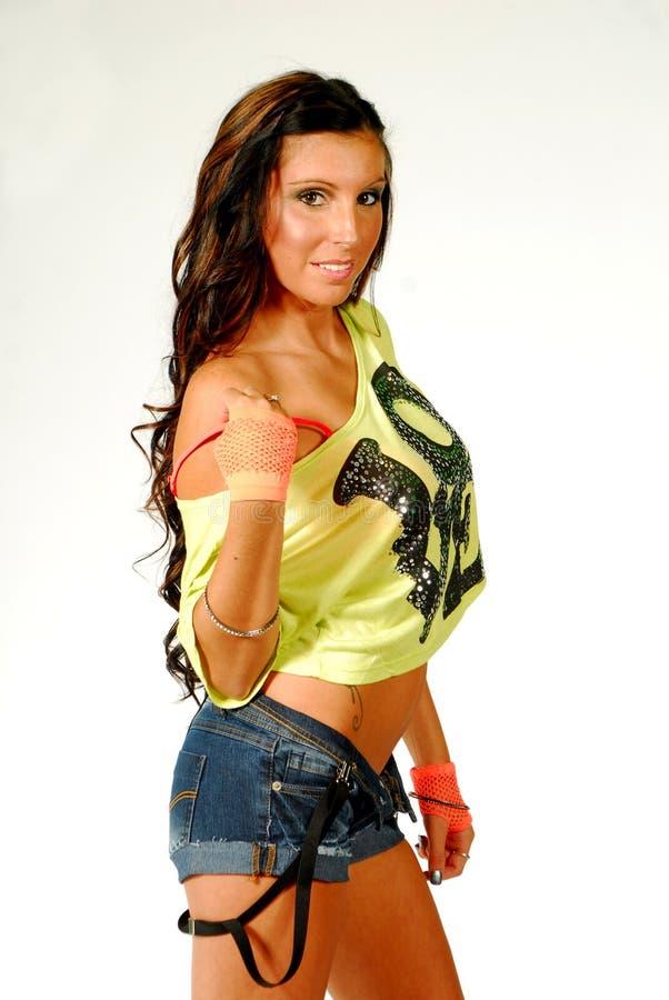 Download Brunette Model Smiling Royalty Free Stock Image - Image: 21231926
