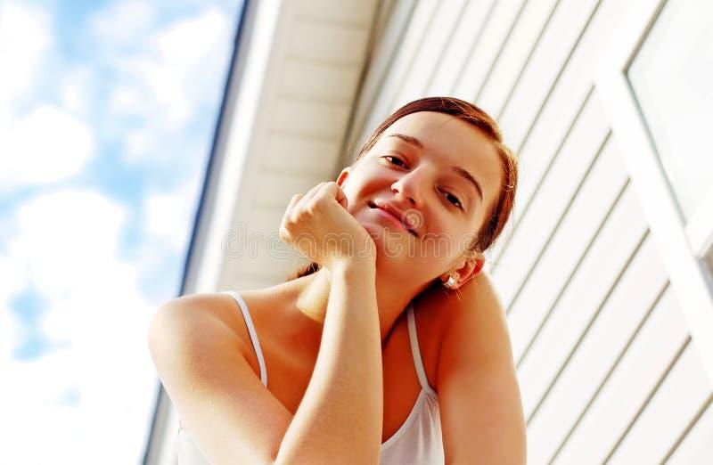 Download Brunette nice girl stock image. Image of brunette, caucasian - 2935351