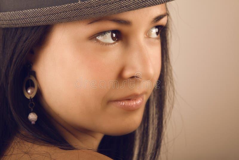 Download Brunette Portrait Stock Photo - Image: 19044930