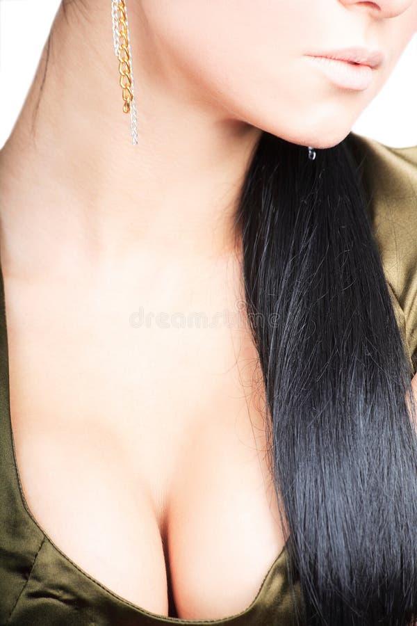 Brunette 'sexy' fotografia de stock