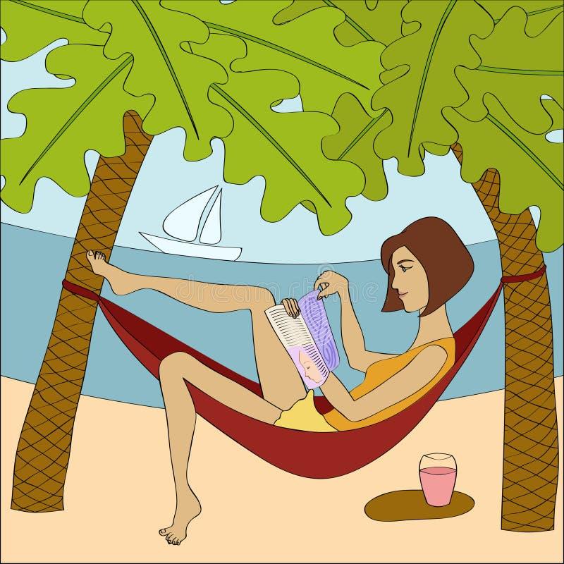 Download Brunette woman stock vector. Illustration of recreation - 27436147