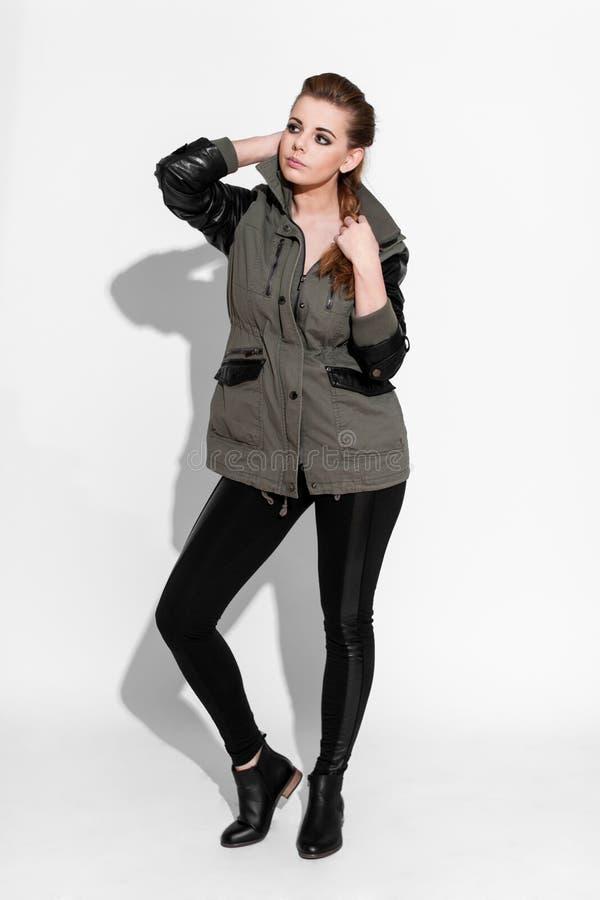 Brunette women stock image