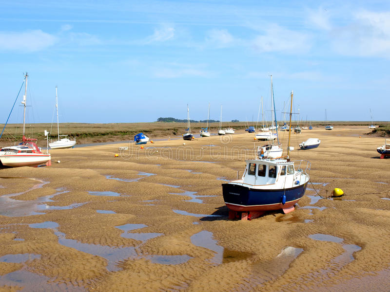 Brunnar därefter havet, Norfolk arkivfoton
