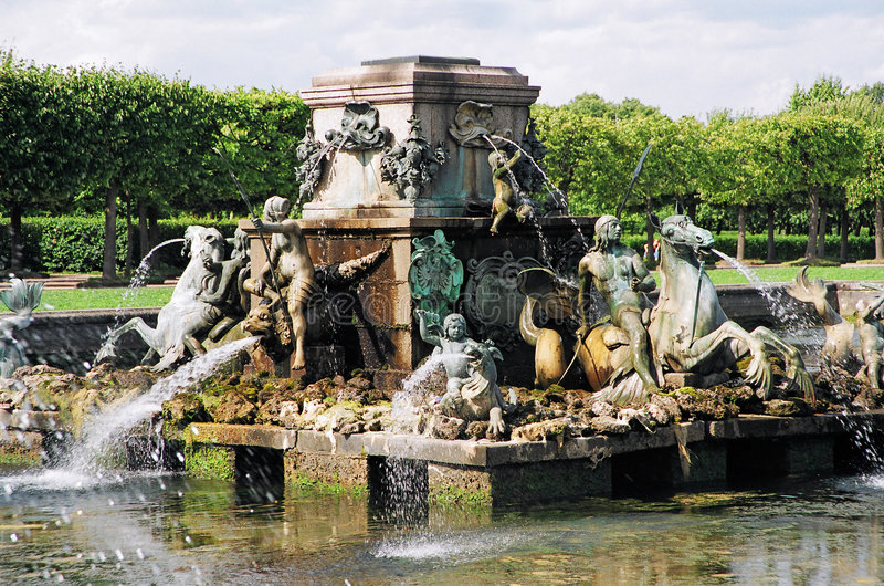 Brunnen. Stockfotografie
