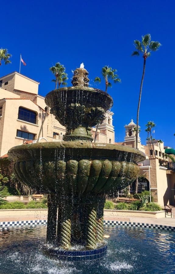 Brunnen bei Del Mar Racetrack lizenzfreies stockfoto