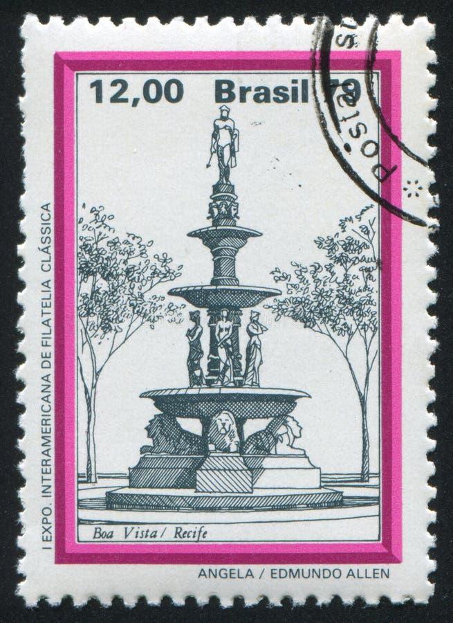 Brunnen-Boa Vista Recife lizenzfreies stockbild
