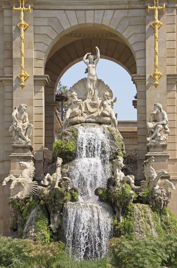Brunnen Carro de la Aurora stockbilder