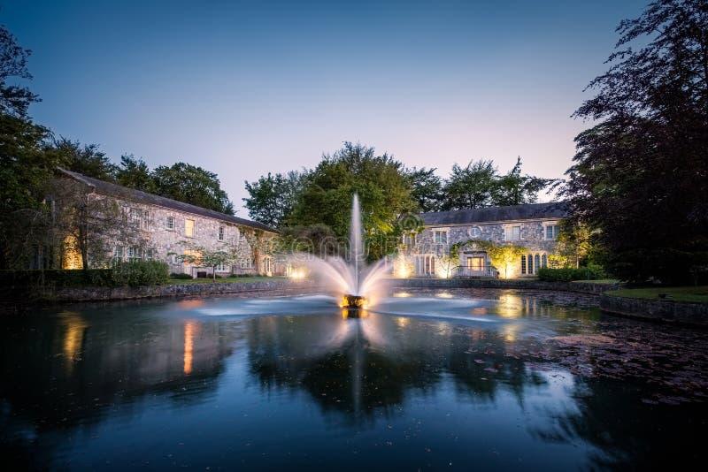 Brunnen in Cliff in Lyons in Kildare, Irland stockfotografie