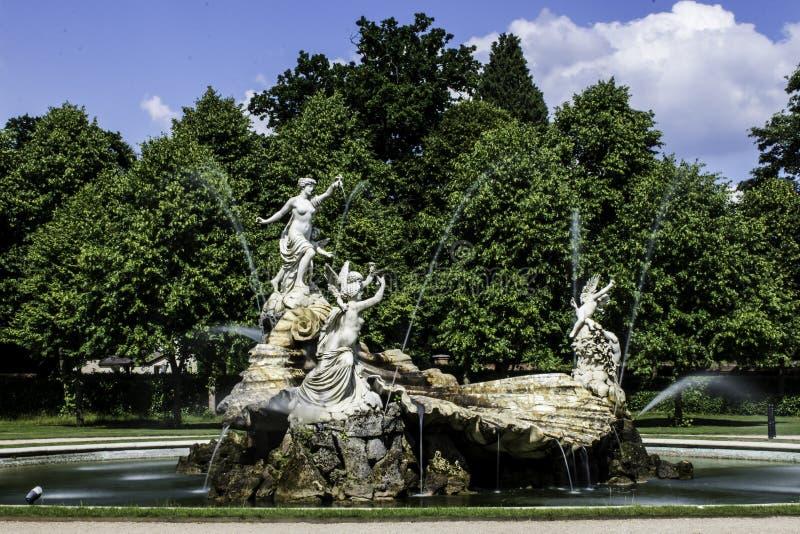 Brunnen der Liebe stockbilder