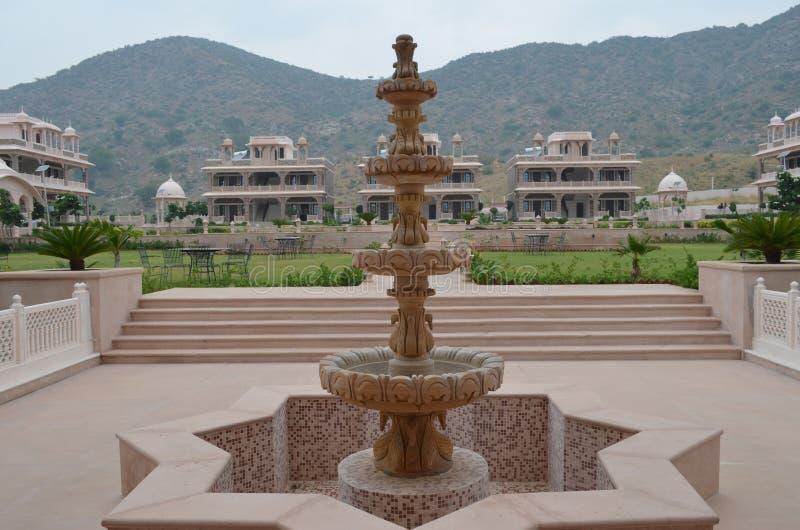 Brunnen des Architekten stockbild