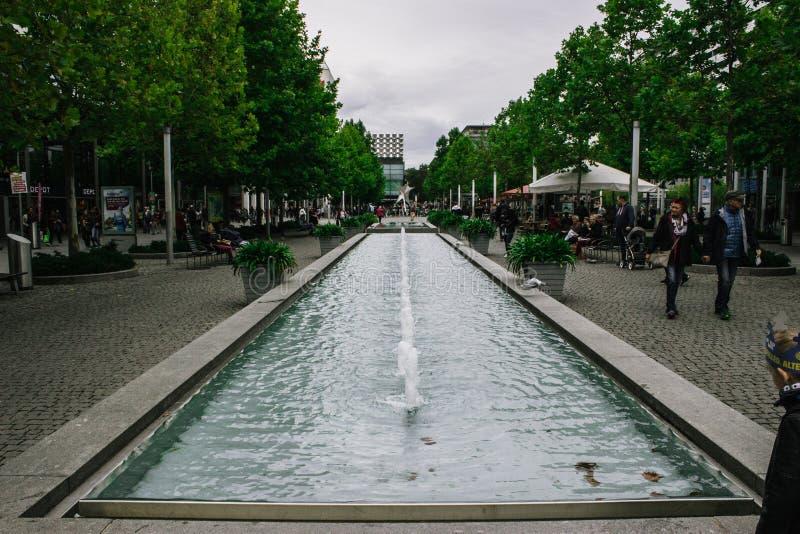 Brunnen in Dresden lizenzfreies stockfoto