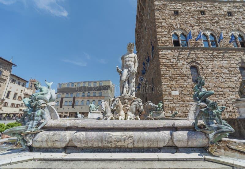 Brunnen in Florenz, Italien lizenzfreie stockfotos