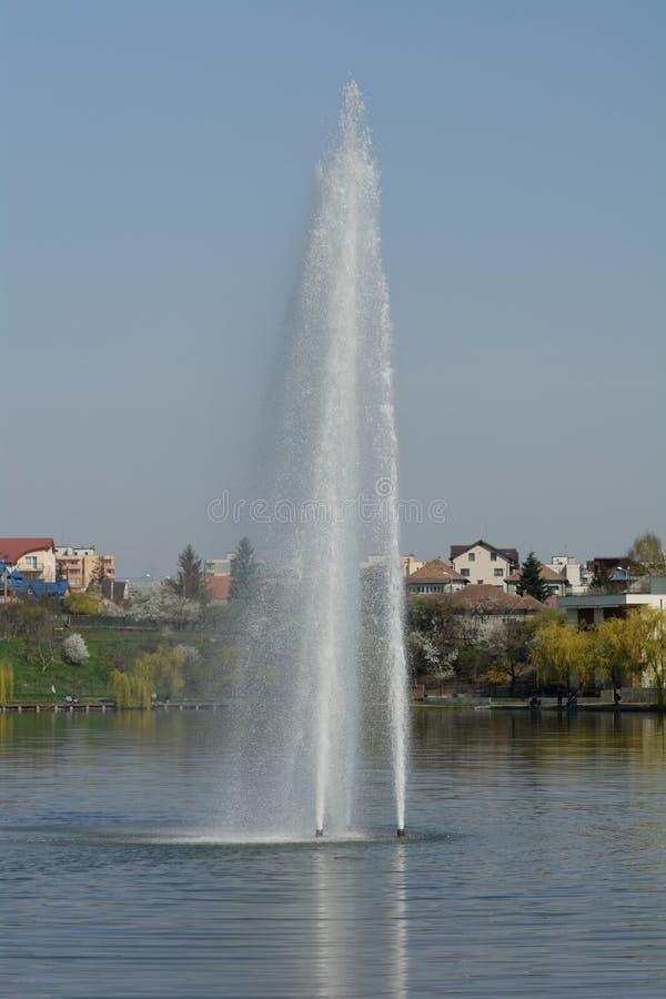 Brunnen-Klausenburg-Napoca stockfotos