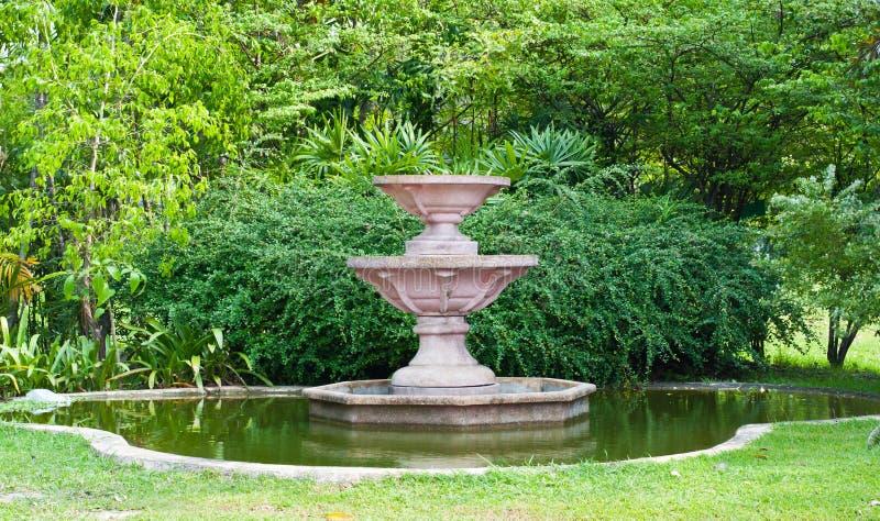 Brunnen ohne Wasser lizenzfreie stockfotografie