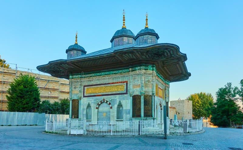 Brunnen von Ahmed III stockfoto
