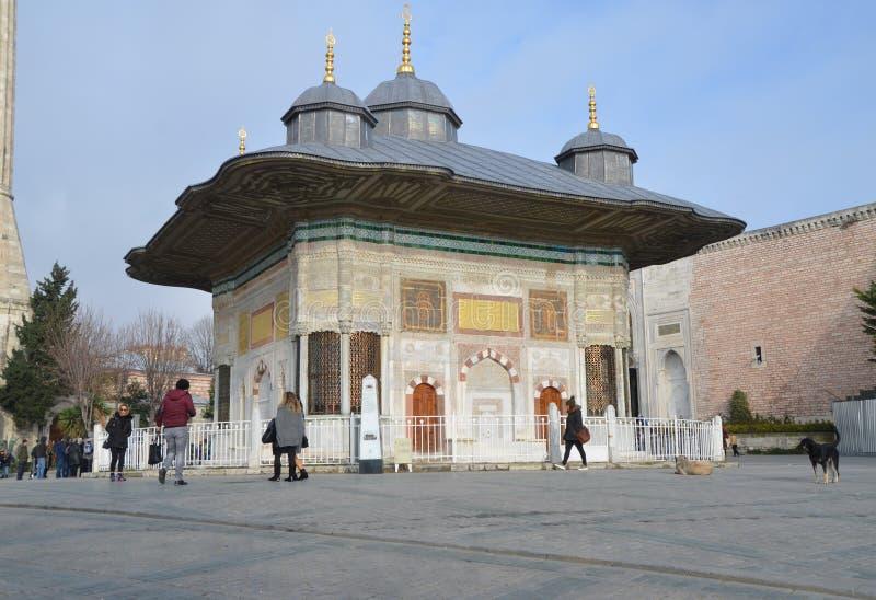 Brunnen von Ahmed III lizenzfreies stockbild
