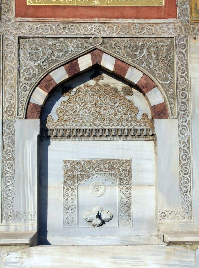 Brunnen von Ahmet III, Istanbul, Truthahn lizenzfreies stockfoto