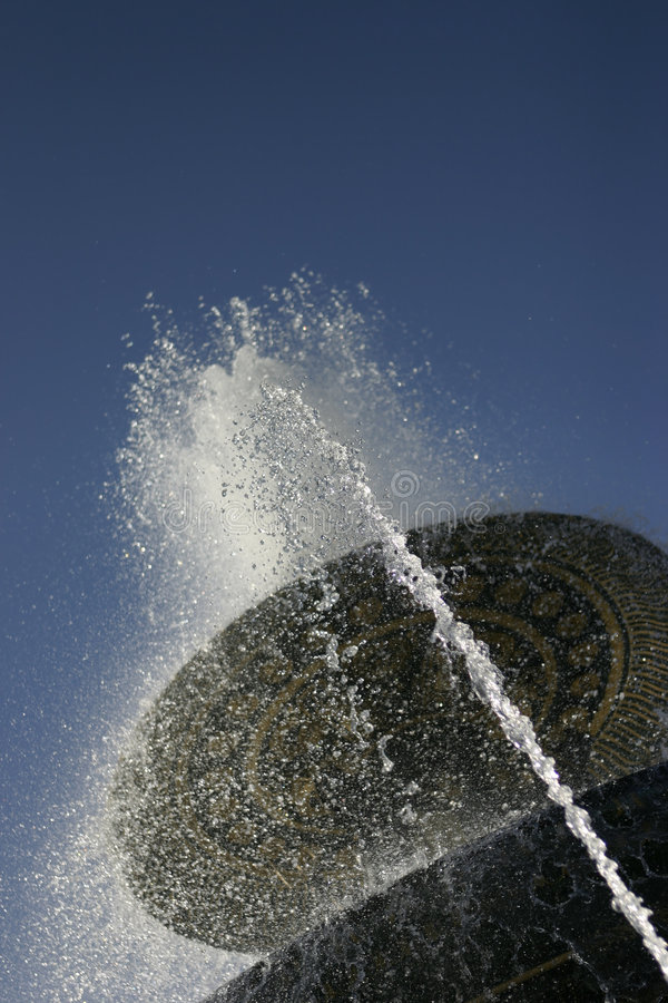 Brunnenspaß lizenzfreie stockbilder