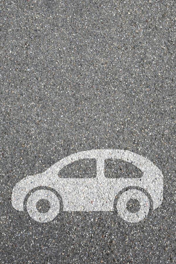 Brunnsort för kopia för copyspace för rörlighet för stad för trafik för väg för bilmedelgata arkivfoto