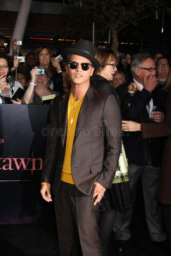Download Bruno Mars editorial image. Image of premiere, bruno - 22231090