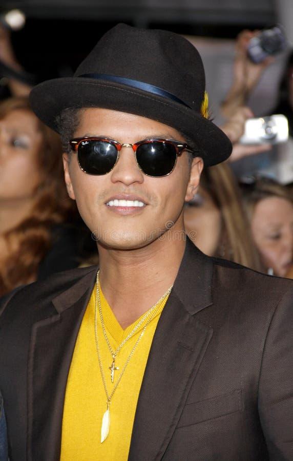 Bruno Mars photographie stock
