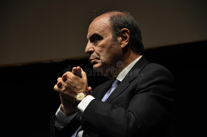 Download Bruno Vespa Italian Anchorman Editorial Stock Image - Image: 25246094