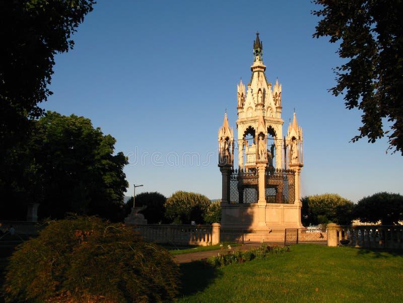 brunswick geneva monument switzerland 库存图片