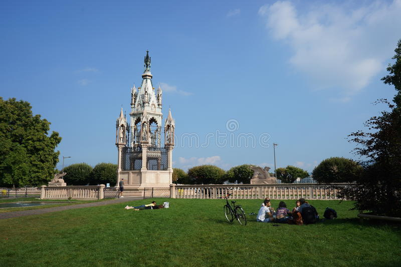 Brunswick-Monument stockbild
