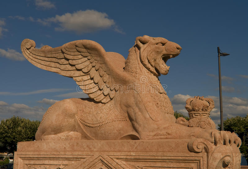 Brunswick Monument in Geneva, Switzerland, 2012 stock images