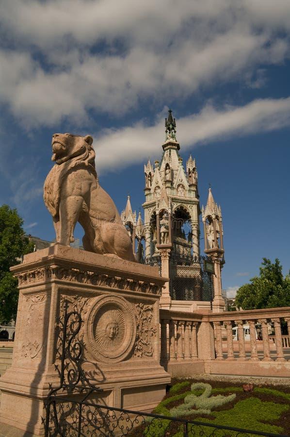 Brunswick Monument in Geneva, Switzerland, 2012 royalty free stock photo