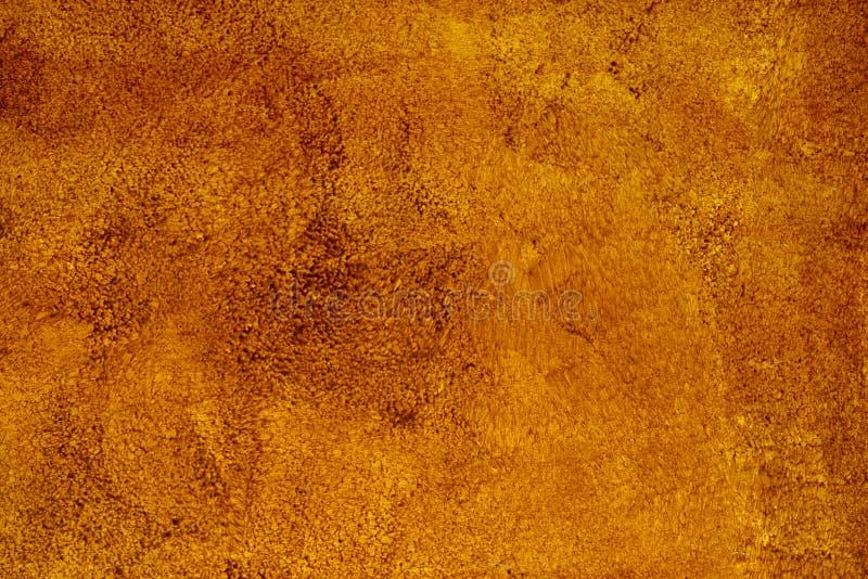 Brunt bakgrundspapper med textur för tappninggrungebakgrund med hasad svart kantar, och den gamla urblekta antika designen har ko arkivbild