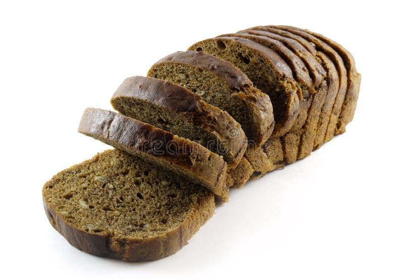 brunt frö för bröd arkivbild