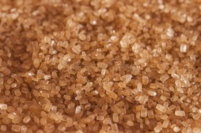 brunt kristallmakrosocker arkivfoton