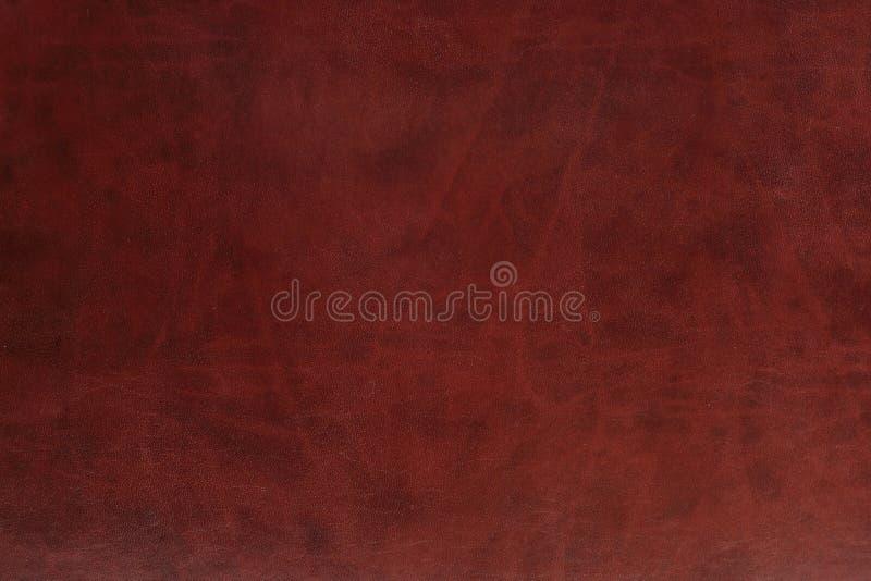 brunt läder arkivfoto