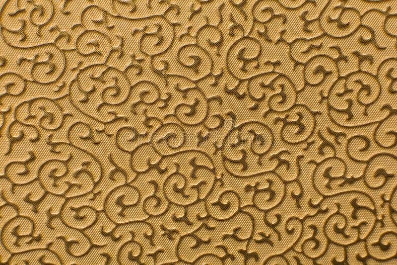 Brunt lädertexturtryck som bakgrund royaltyfri foto