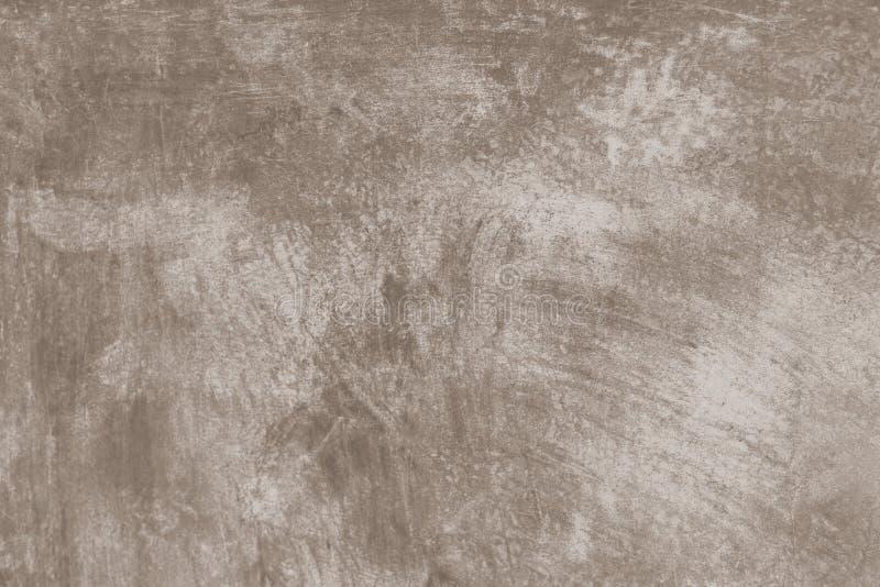 Brunt målad väggtexturbakgrund arkivbild