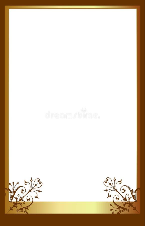 brunt ramfoto vektor illustrationer