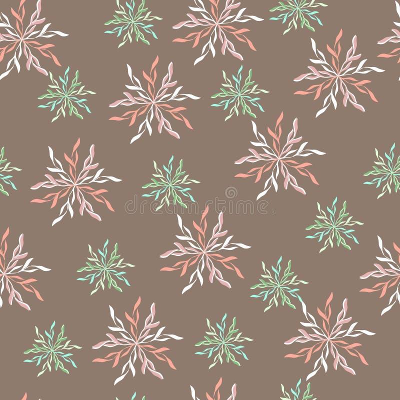 brunt seamless för bakgrund Ändlösa texturer vektor illustrationer