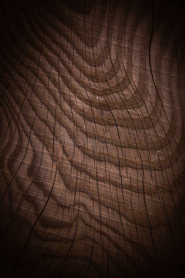 Brunt trä texturerad bakgrund arkivfoto