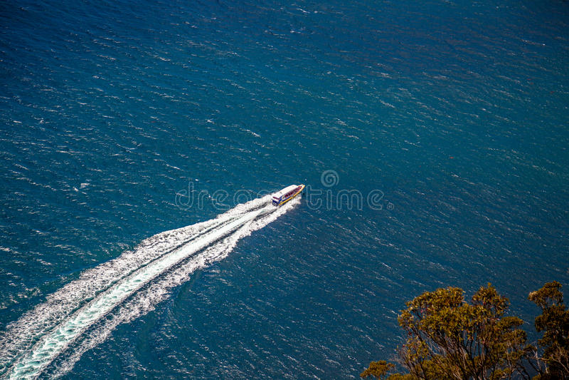 Bruny Island Cruises royalty free stock photo
