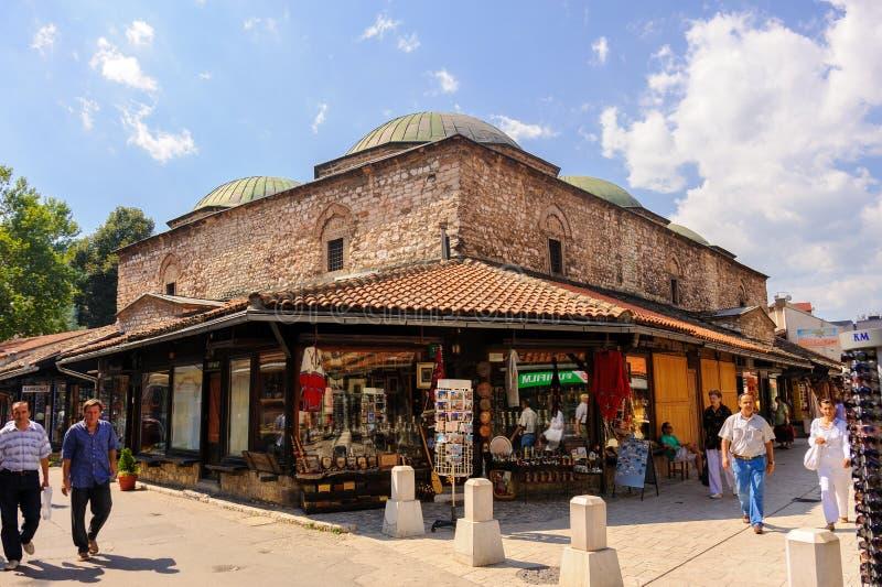 Brusa Bezistan Sarajevo arkivfoto