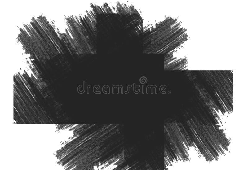 brusbakgrundsdesign, med färg, för text- eller bakgrundsmallar stock illustrationer