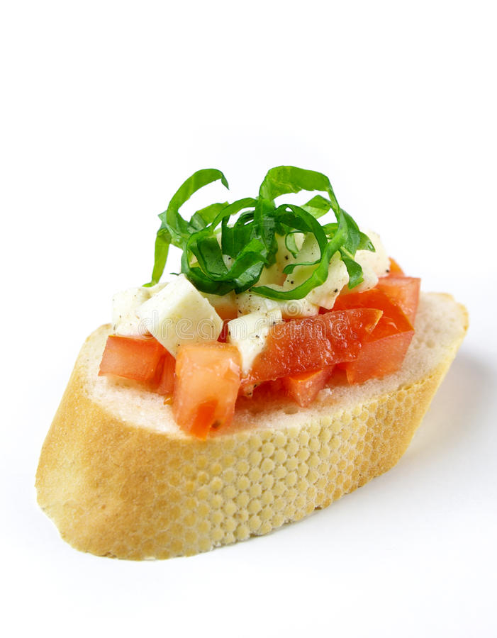 Bruschetta foto de stock