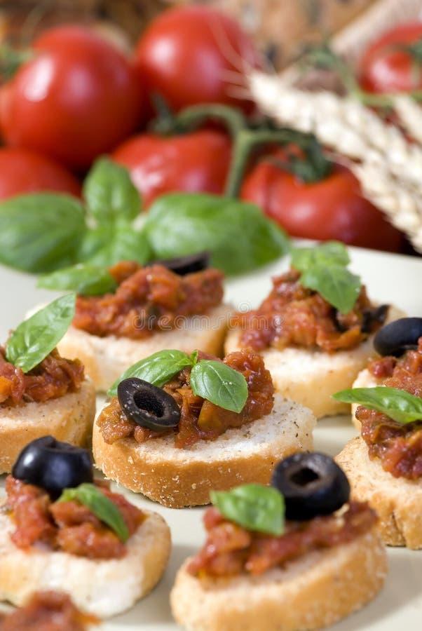Download Bruschetta stock photo. Image of olive, healthy, fresh - 3025056