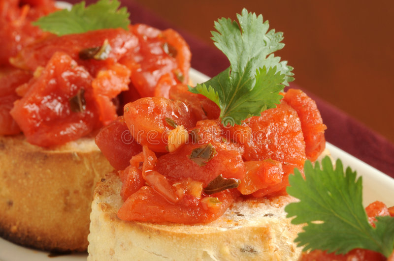 Download Bruschetta stock image. Image of food, homemade, appetizer - 5318861