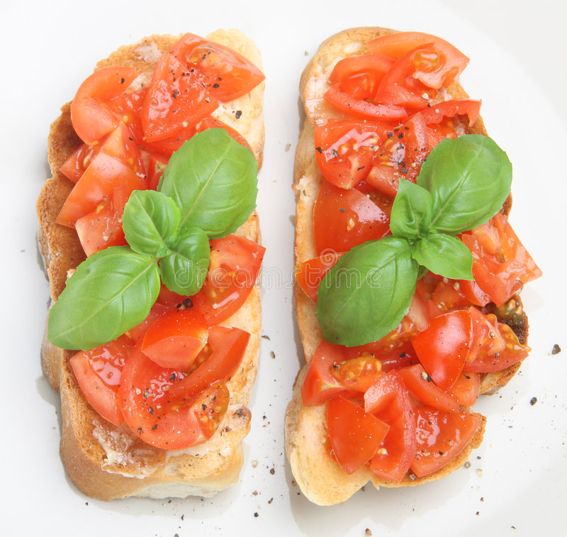 bruschetta photos stock