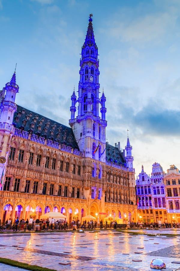 Bruselas, Bélgica Ayuntamiento de Bruselas fotos de archivo libres de regalías
